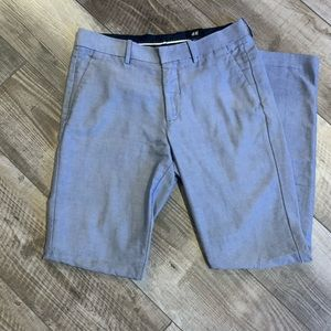 Men's blue dress pants